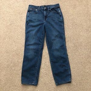 J. Crew High Rise Vintage Straight Jeans